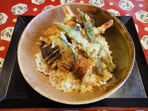 えびと新鮮野菜の 天丼